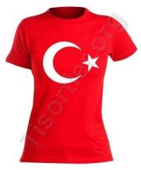 24 kasım öğretmenler günü Bayan Türk Bayrağı Tişört