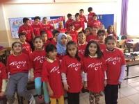 24 kasım öğretmeler günü baskılı Ayyıldız Bayrak T-shirt