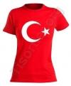 10 Kasım Bayan Türk Bayrağı Tişört