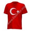 Türkiye Temalı Ay yıldız Tişört